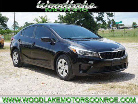 2017 Kia Forte for sale at WOODLAKE MOTORS in Conroe TX