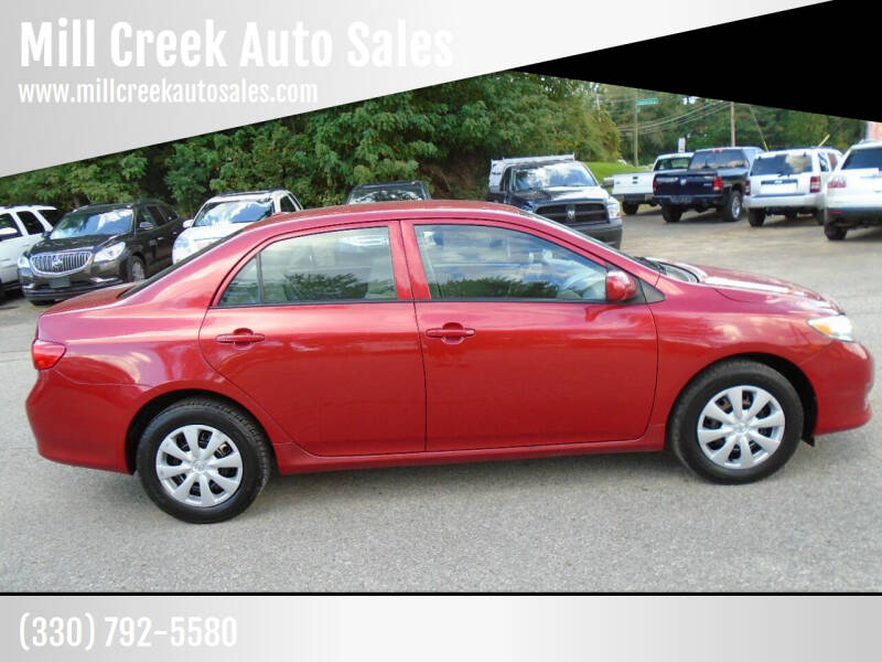 2010 Toyota Corolla for sale at Mill Creek Auto Sales in Youngstown OH