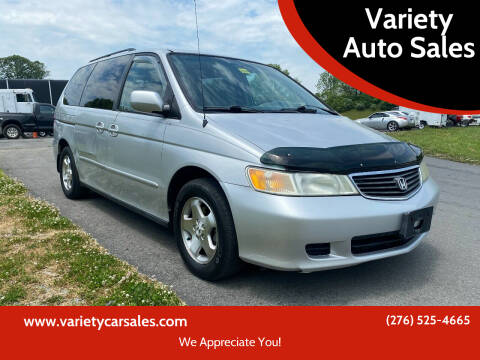 2001 Honda Odyssey for sale at Variety Auto Sales in Abingdon VA