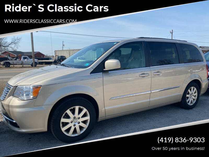 2013 Chrysler Town and Country for sale at Rider`s Classic Cars in Millbury OH