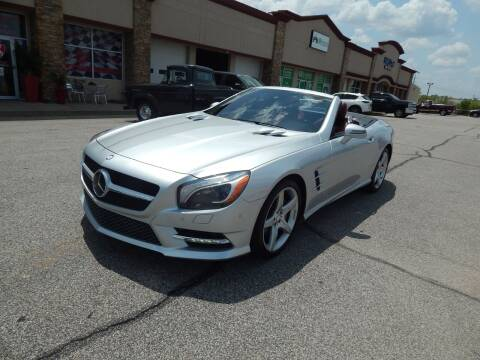 2013 Mercedes-Benz SL-Class for sale at Iconic Motors of Oklahoma City, LLC in Oklahoma City OK
