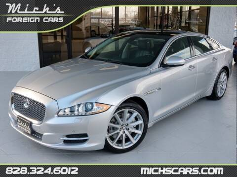 2013 Jaguar XJ for sale at Mich's Foreign Cars in Hickory NC