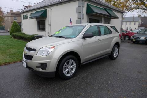 2013 Chevrolet Equinox for sale at FBN Auto Sales & Service in Highland Park NJ