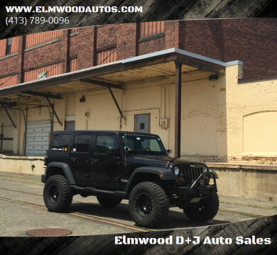 2013 Jeep Wrangler Unlimited for sale at Elmwood D+J Auto Sales in Agawam MA