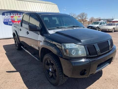 2009 Nissan Titan for sale at Praylea's Auto Sales in Peyton CO
