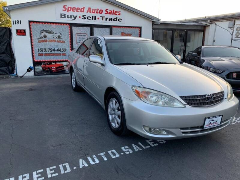 2004 Toyota Camry for sale at Speed Auto Sales in El Cajon CA