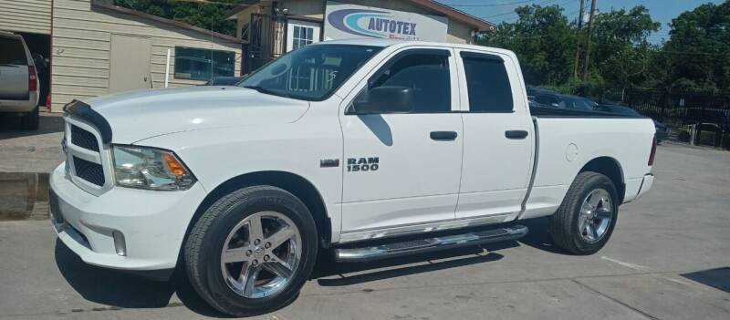2013 RAM Ram Pickup 1500 for sale at AUTOTEX FINANCIAL in San Antonio TX