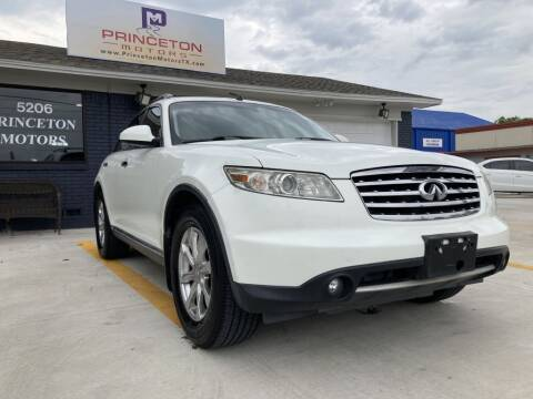 2008 Infiniti FX35 for sale at Princeton Motors in Princeton TX