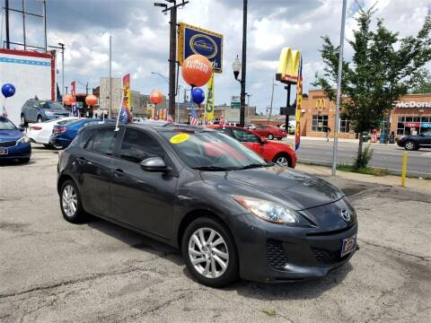 2012 Mazda MAZDA3 for sale at AutoBank in Chicago IL