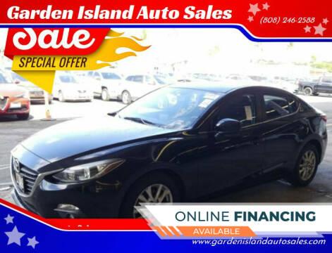 2016 Mazda MAZDA3 for sale at Garden Island Auto Sales in Lihue HI