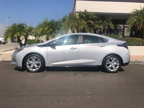 2017 Chevrolet Volt for sale at HIGH-LINE MOTOR SPORTS in Brea CA