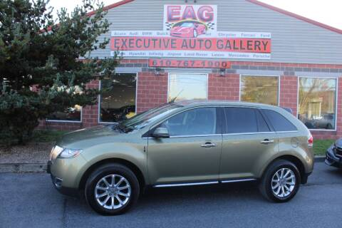 2013 Lincoln MKX for sale at EXECUTIVE AUTO GALLERY INC in Walnutport PA