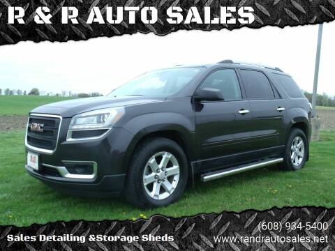 2015 GMC Acadia for sale at R & R AUTO SALES in Juda WI