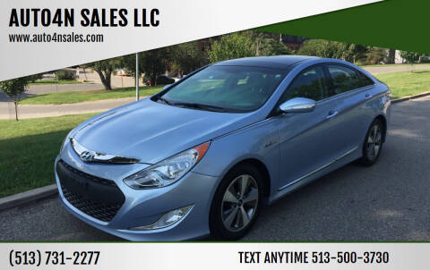 2011 Hyundai Sonata Hybrid for sale at AUTO4N SALES LLC in Cincinnati OH