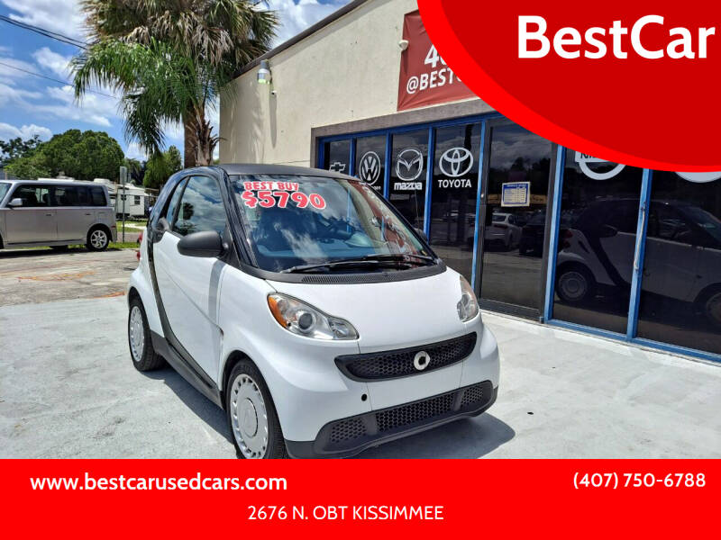 2014 Smart fortwo for sale at BestCar in Kissimmee FL