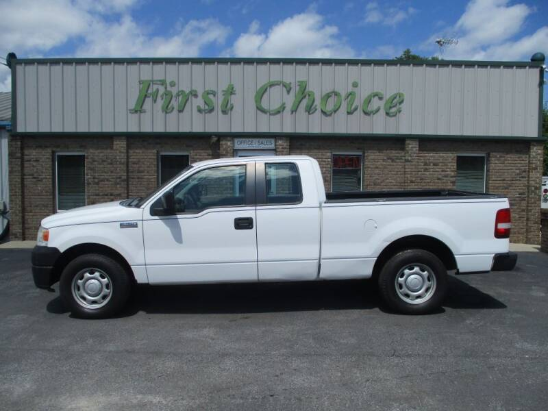 2007 Ford F-150 for sale at First Choice Auto in Greenville SC