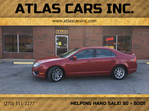 2010 Ford Fusion for sale at Atlas Cars Inc. - Elizabethtown Lot in Elizabethtown KY