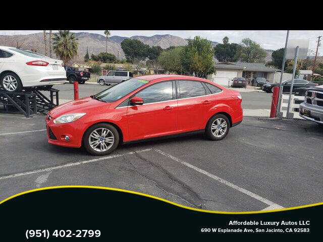 2012 Ford Focus for sale at Affordable Luxury Autos LLC in San Jacinto CA