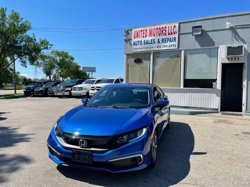 2019 Honda Civic for sale at United Motors LLC in Saint Francis WI