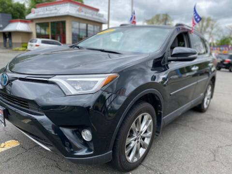 2016 Toyota RAV4 Hybrid for sale at Nasa Auto Group LLC in Passaic NJ