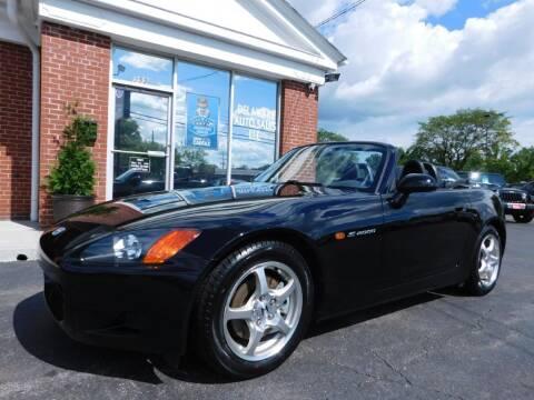 2002 Honda S2000 for sale at Delaware Auto Sales in Delaware OH