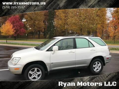 2001 Lexus RX 300 for sale at Ryan Motors LLC in Warsaw IN