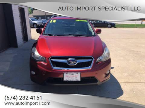 2014 Subaru XV Crosstrek for sale at Auto Import Specialist LLC in South Bend IN