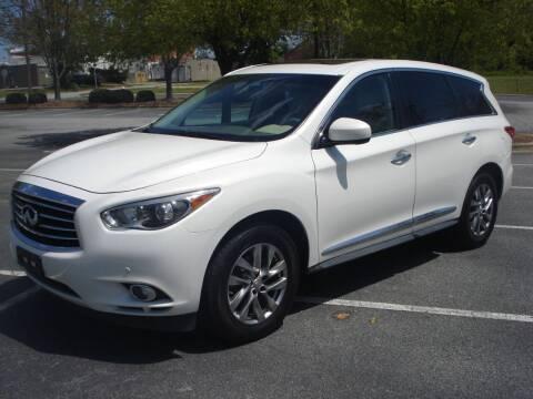2013 Infiniti JX35 for sale at Uniworld Auto Sales LLC. in Greensboro NC
