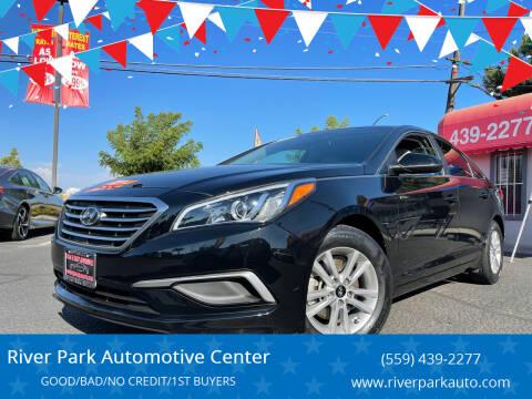 2016 Hyundai Sonata for sale at River Park Automotive Center in Fresno CA
