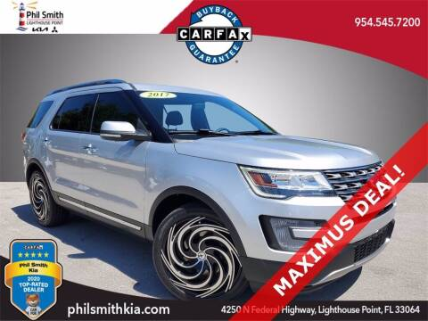 2017 Ford Explorer for sale at PHIL SMITH AUTOMOTIVE GROUP - Phil Smith Kia in Lighthouse Point FL