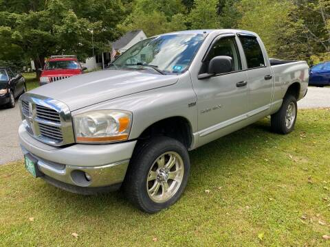 2006 Dodge Ram Pickup 1500 for sale at Olney Auto Sales in Springfield VT