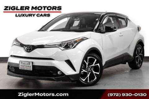 2019 Toyota C-HR for sale at Zigler Motors in Addison TX