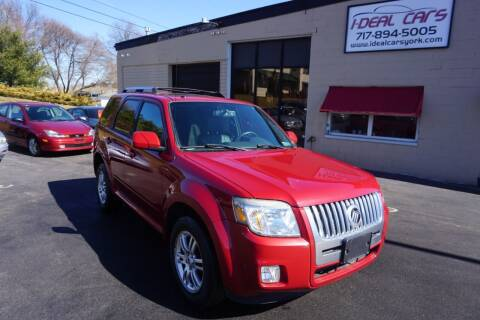 2010 Mercury Mariner for sale at I-Deal Cars LLC in York PA