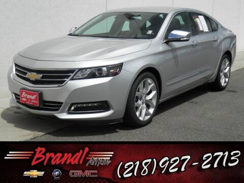 2015 Chevrolet Impala for sale at Brandl GM in Aitkin MN