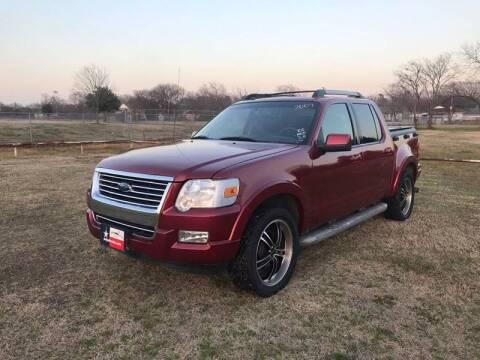 2007 Ford Explorer Sport Trac for sale at LA PULGA DE AUTOS in Dallas TX