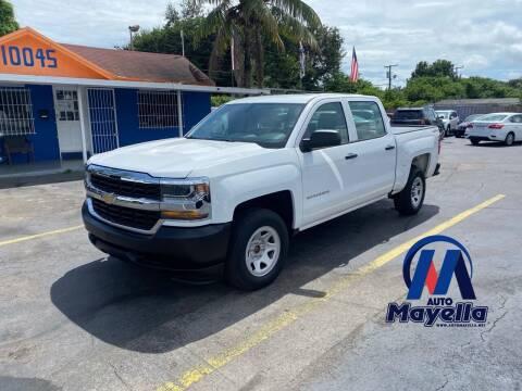 2016 Chevrolet Silverado 1500 for sale at Auto Mayella in Miami FL