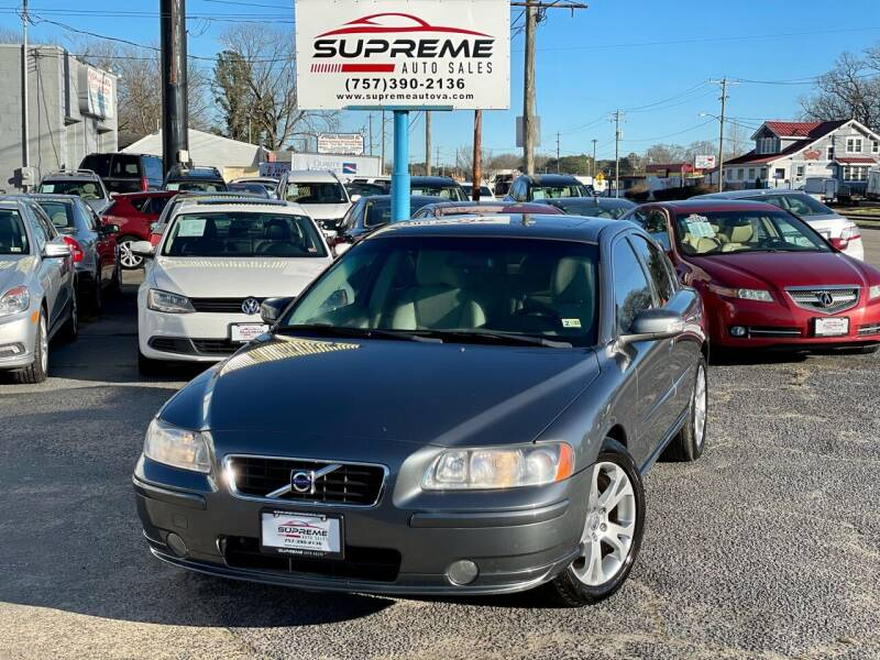 2009 Volvo S60 for sale at Supreme Auto Sales in Chesapeake VA