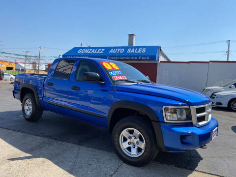 2008 Dodge Dakota for sale at Gonzalez Auto Sales in Joliet IL