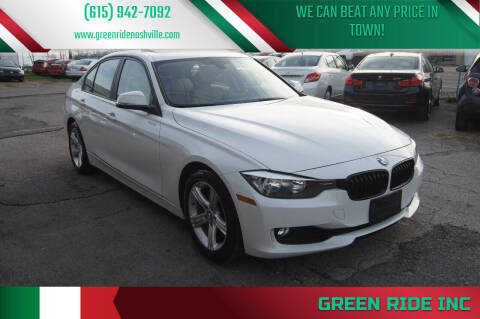 2013 BMW 3 Series for sale at Green Ride Inc in Nashville TN