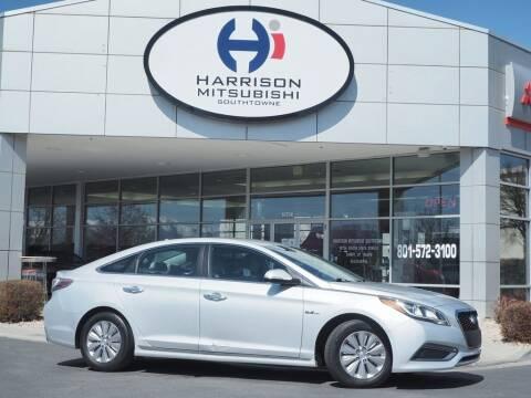 2016 Hyundai Sonata Hybrid for sale at Harrison Imports in Sandy UT
