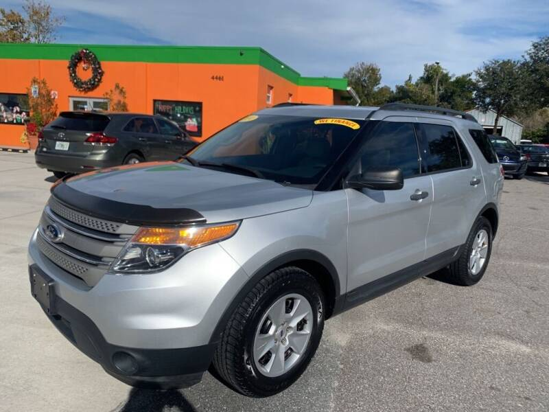 2014 Ford Explorer for sale at Galaxy Auto Service, Inc. in Orlando FL