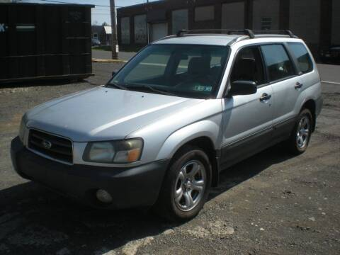 2004 Subaru Forester for sale at 611 CAR CONNECTION in Hatboro PA