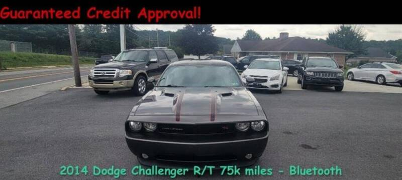 2014 Dodge Challenger for sale at Fortnas Used Cars in Jonestown PA