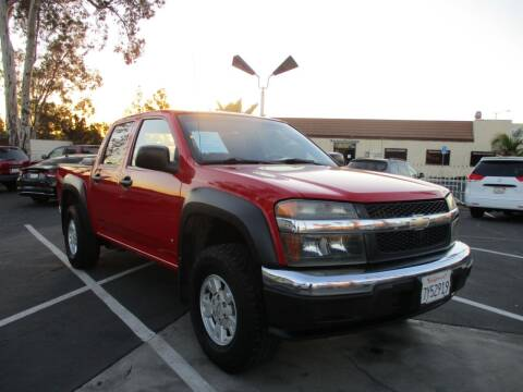2006 Chevrolet Colorado for sale at F & A Car Sales Inc in Ontario CA