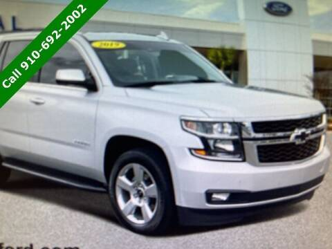 2019 Chevrolet Tahoe for sale at PHIL SMITH AUTOMOTIVE GROUP - SOUTHERN PINES GM in Southern Pines NC