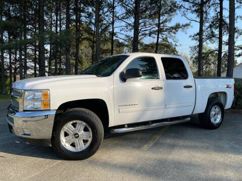 2012 Chevrolet Silverado 1500 for sale at Selective Imports in Woodstock GA