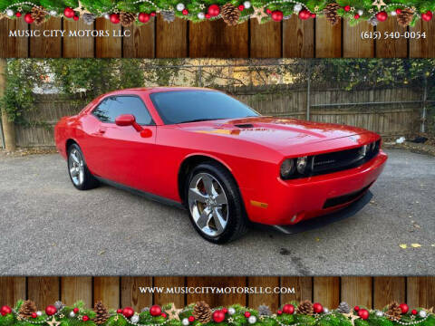 2009 Dodge Challenger for sale at MUSIC CITY MOTORS LLC in Nashville TN
