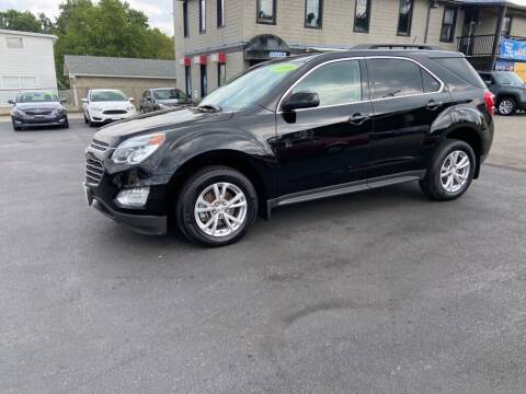 2016 Chevrolet Equinox for sale at Sisson Pre-Owned in Uniontown PA
