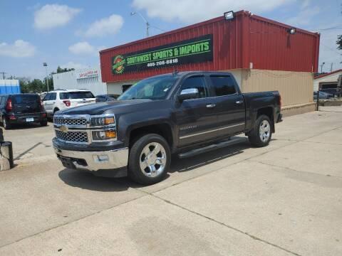 2015 Chevrolet Silverado 1500 for sale at Southwest Sports & Imports in Oklahoma City OK