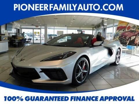 2020 Chevrolet Corvette for sale at Pioneer Family auto in Marietta OH